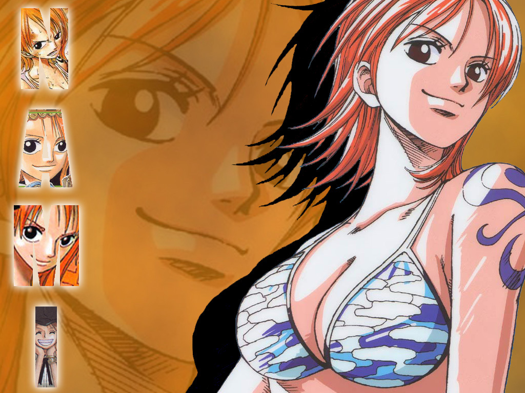 Nami, the navigational genius of the Straw Hats