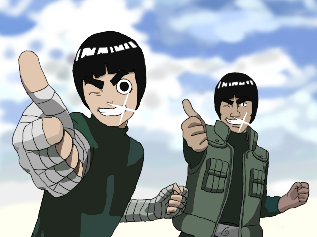 "Rock Lee, Konoha's ""Beautiful Green Wild Beast"""