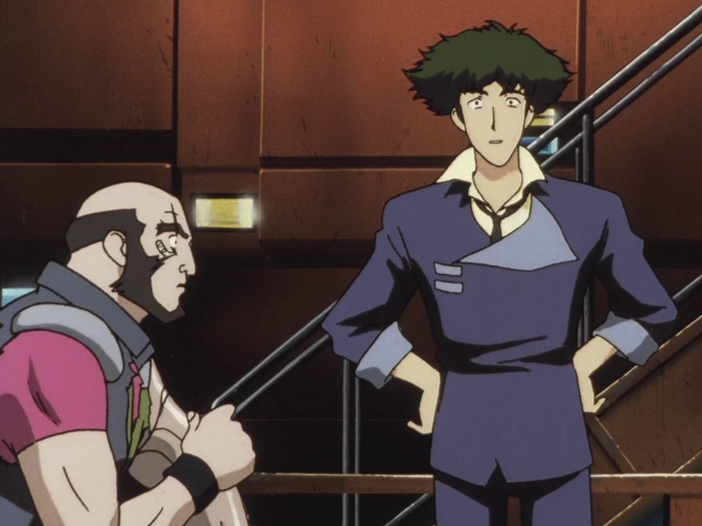 Jet Black the ship's captain of Cowboy Bebop