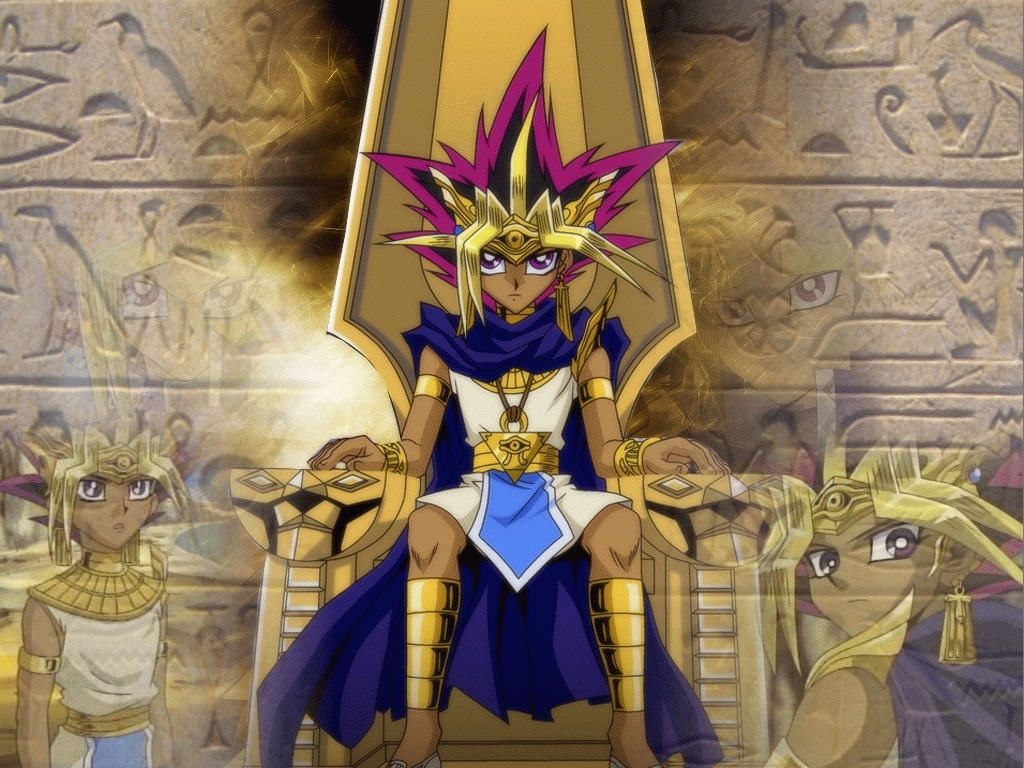 Yami Yugi the powerful King of Games