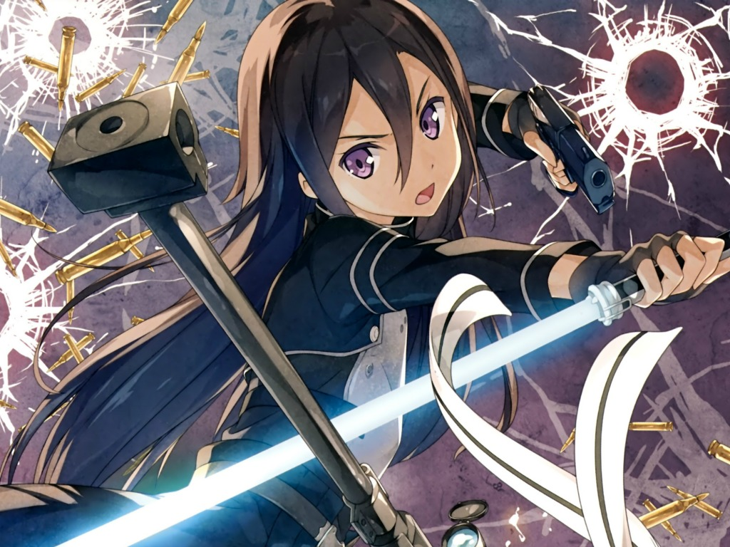 Kirito, the gamer, the hero