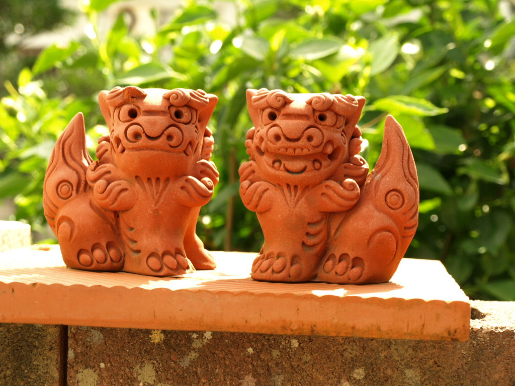 Shisa, the 'lion-dog' guardians of Japan