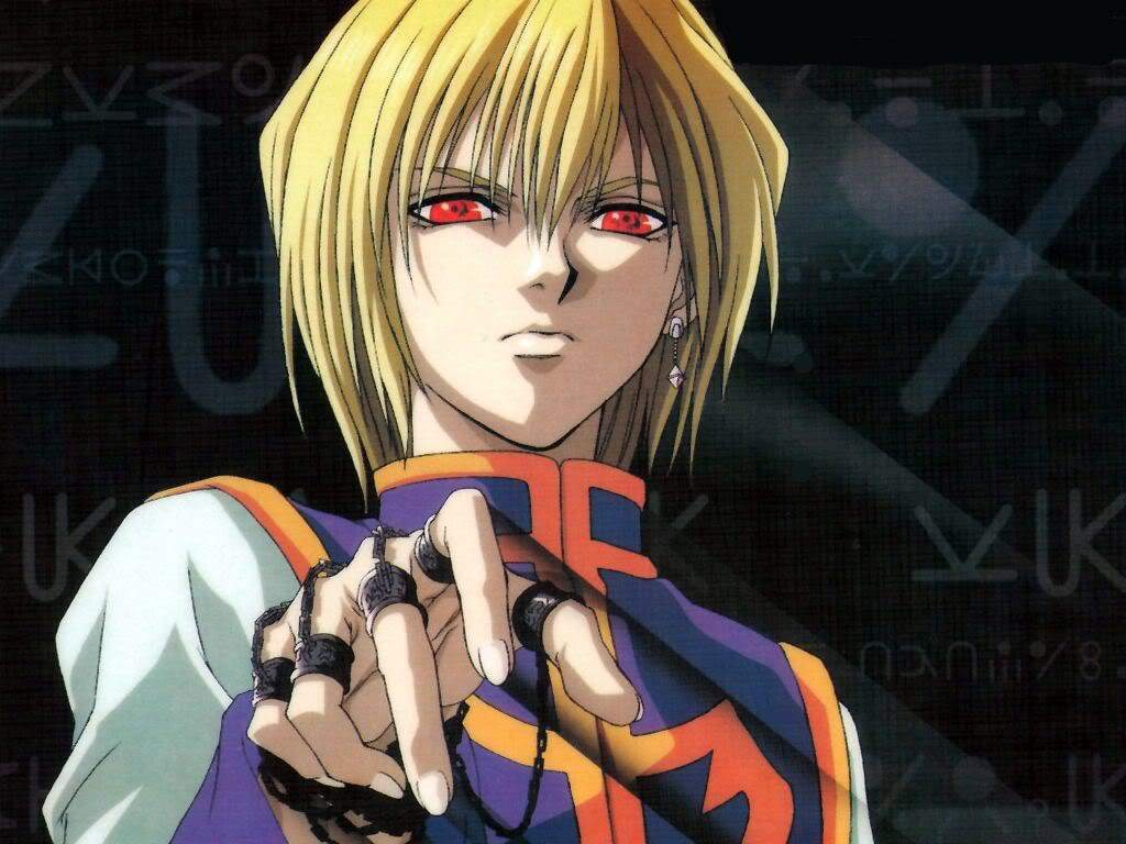 Kurapika, Red-eyed avenger