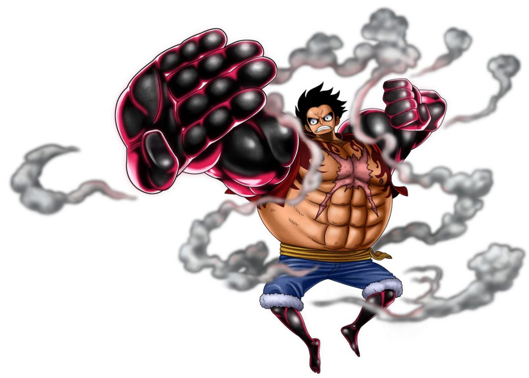 Charaben Luffy Gear 4