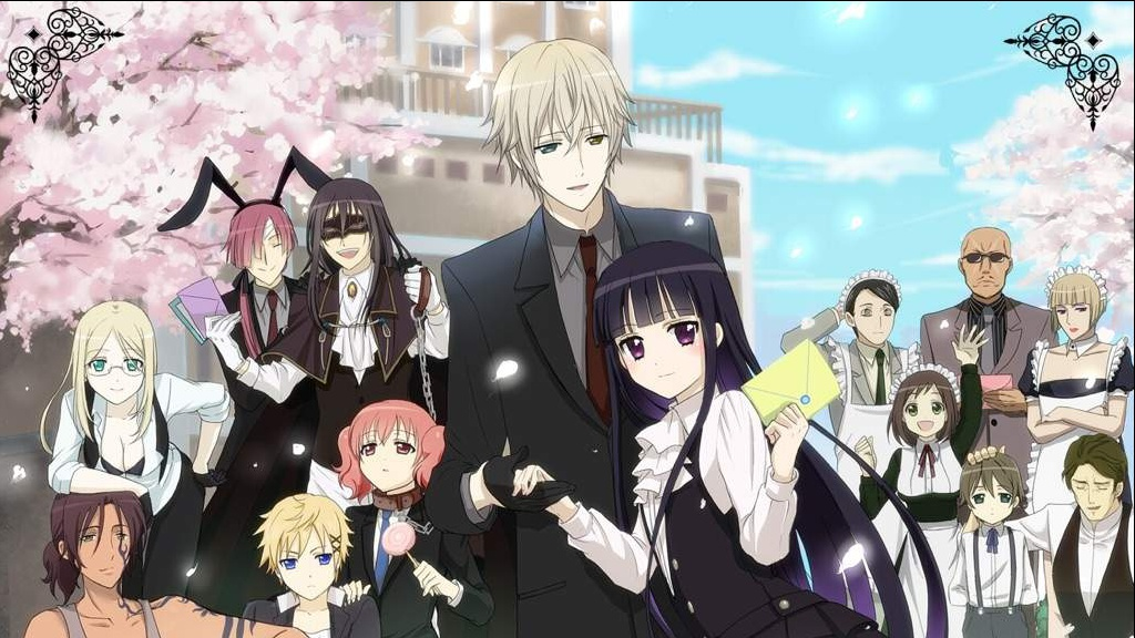 Inu X Boku: Special Service, yokai anime with a twist