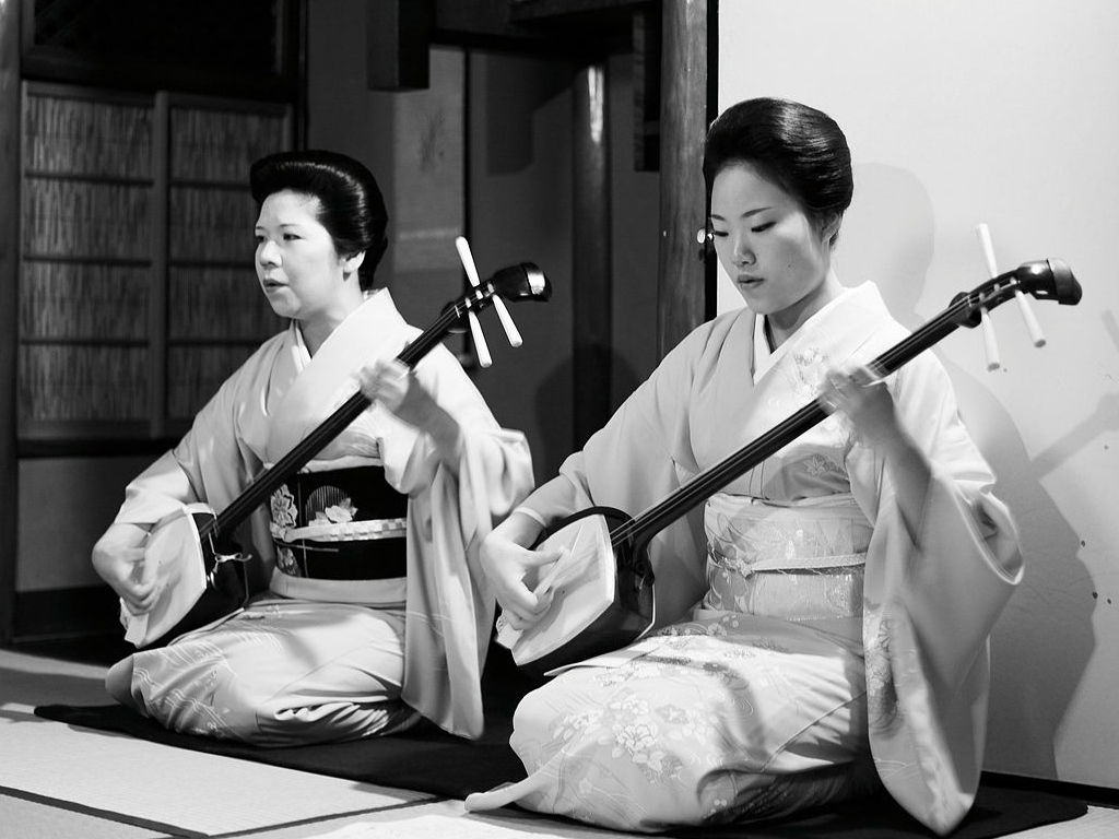 Shamisen, the Japanese banjo