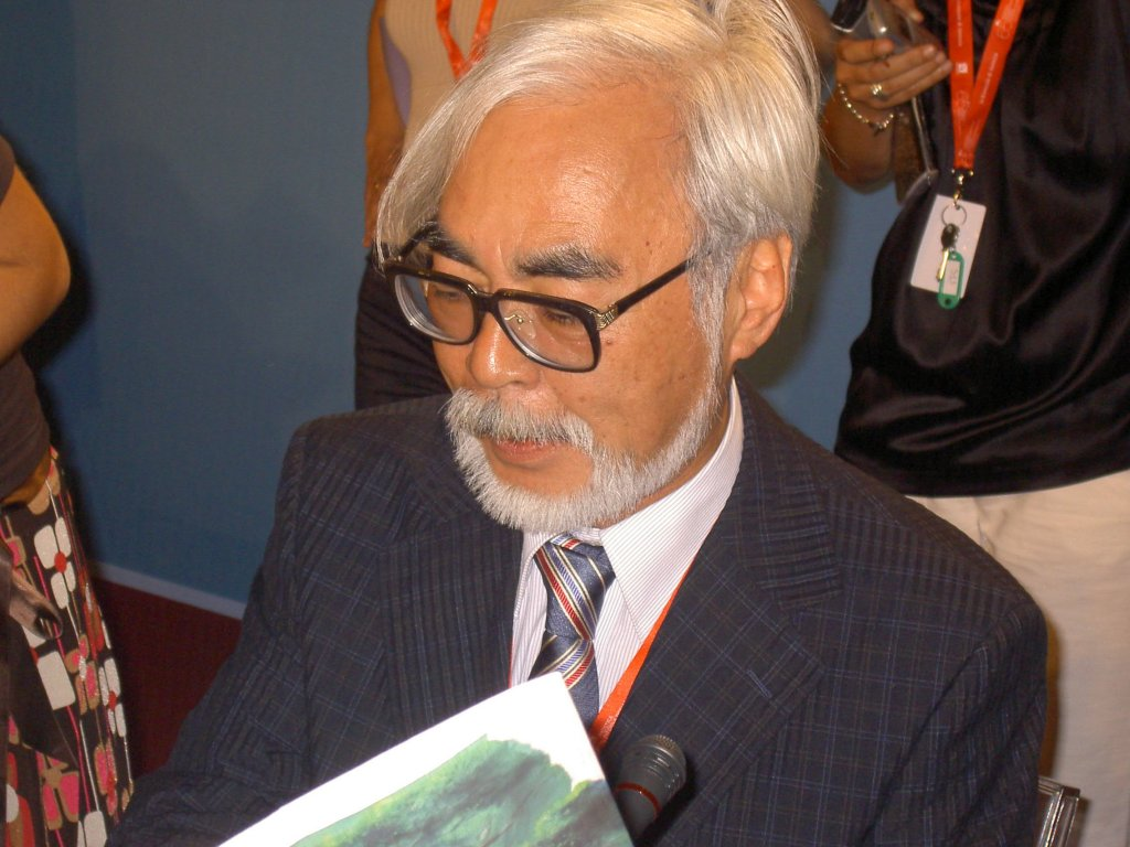 Miyazaki , Master Mind and hero of Anime
