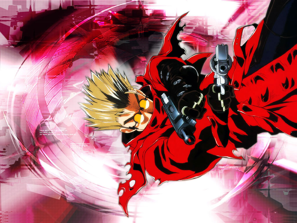 Vash, pacifist or lord of destruction?