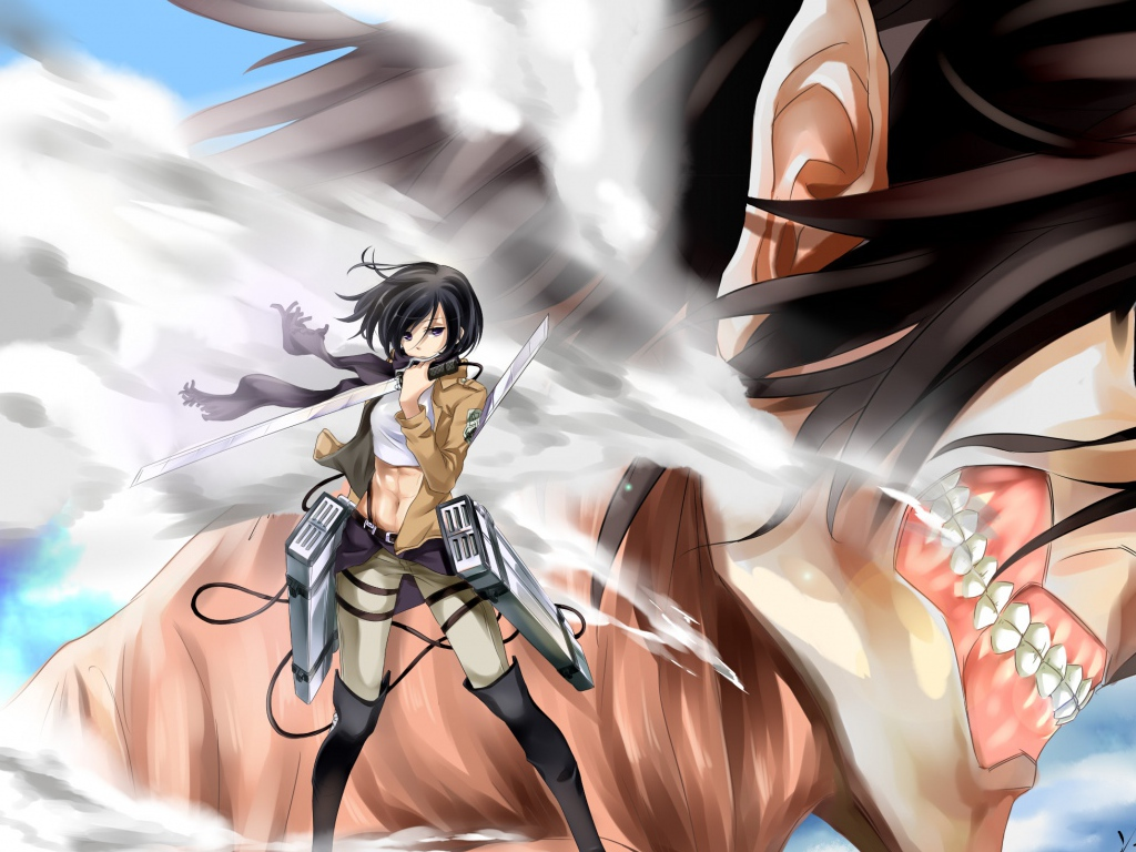Mikasa Ackerman, the Bane of Titans