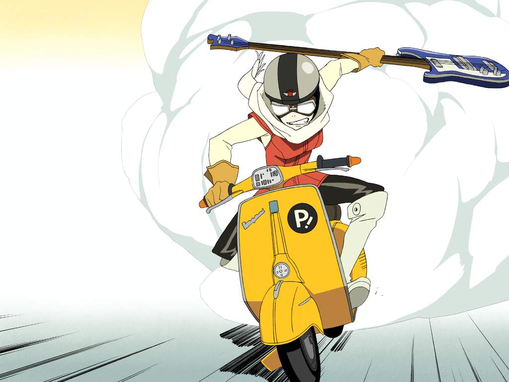 FLCL, the craziness returns