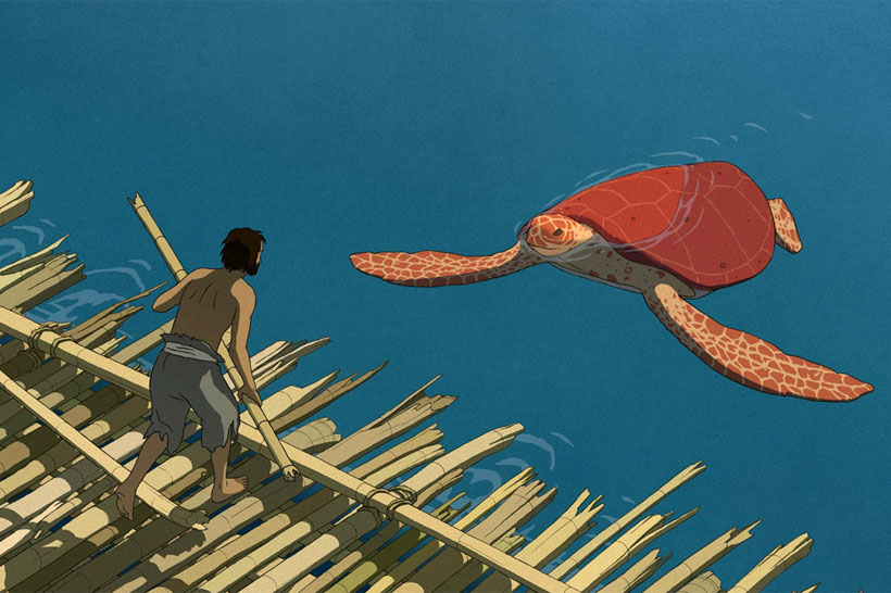 The Red Turtle (La Tortue rouge) preview is here!