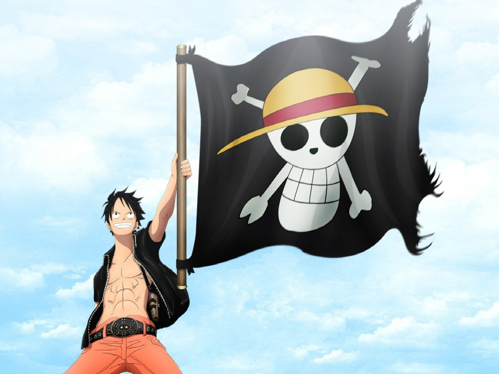 Monkey D Luffy, the rubber pirate