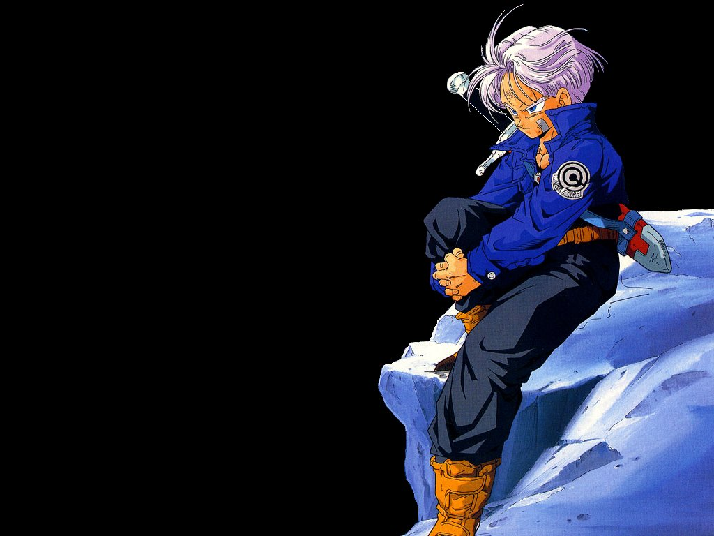 Future Trunks and Bulma plots to save the future
