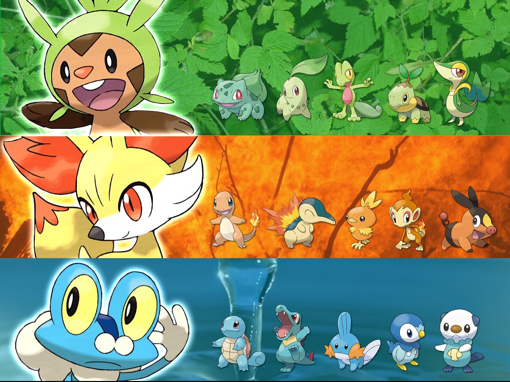 The starters and their predecessors