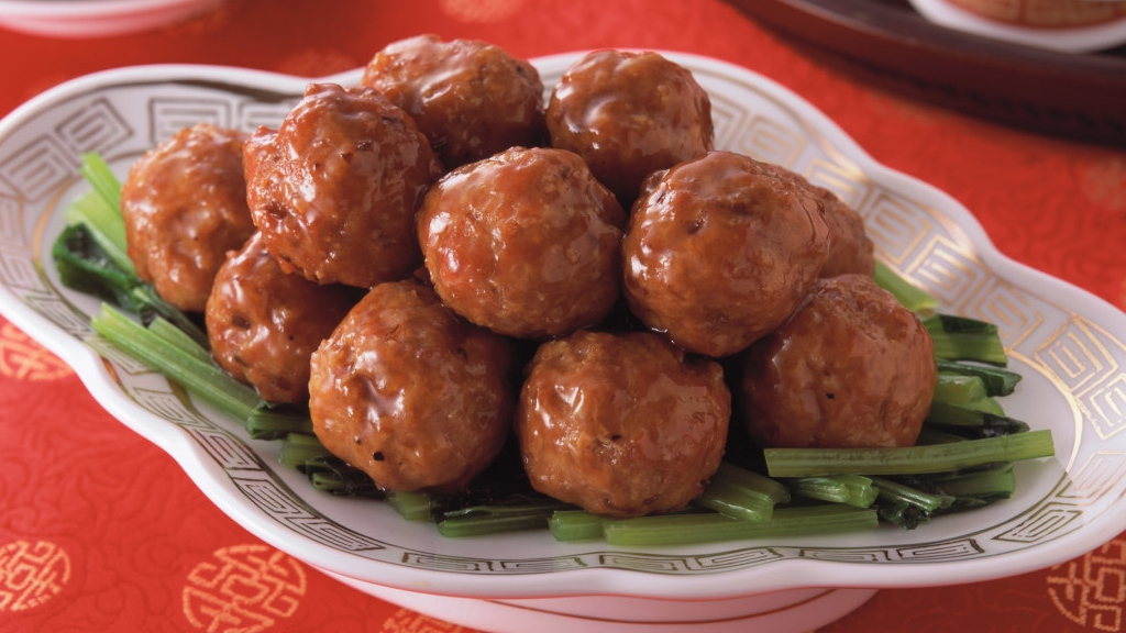 Serving Suggestion for Meatballs