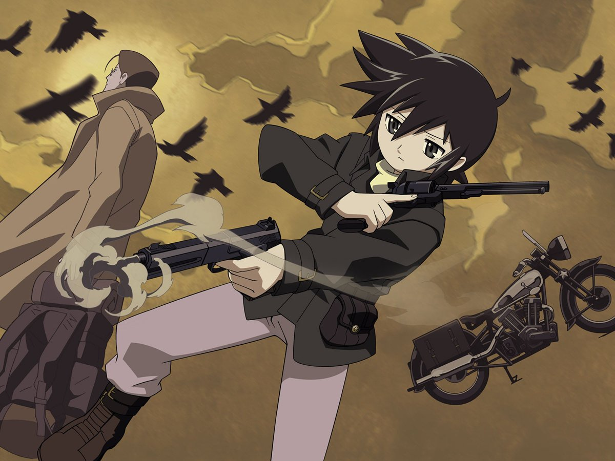 February Anime Challenge: Kino no Tabi: The Beautiful World Week 1